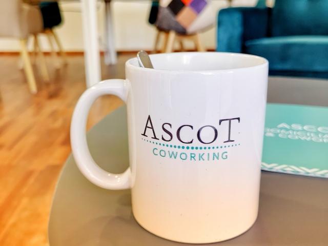 Coin canapé Espace de coworking Beausoleil - Centre d'affaires Ascot Domiciliation & Coworking