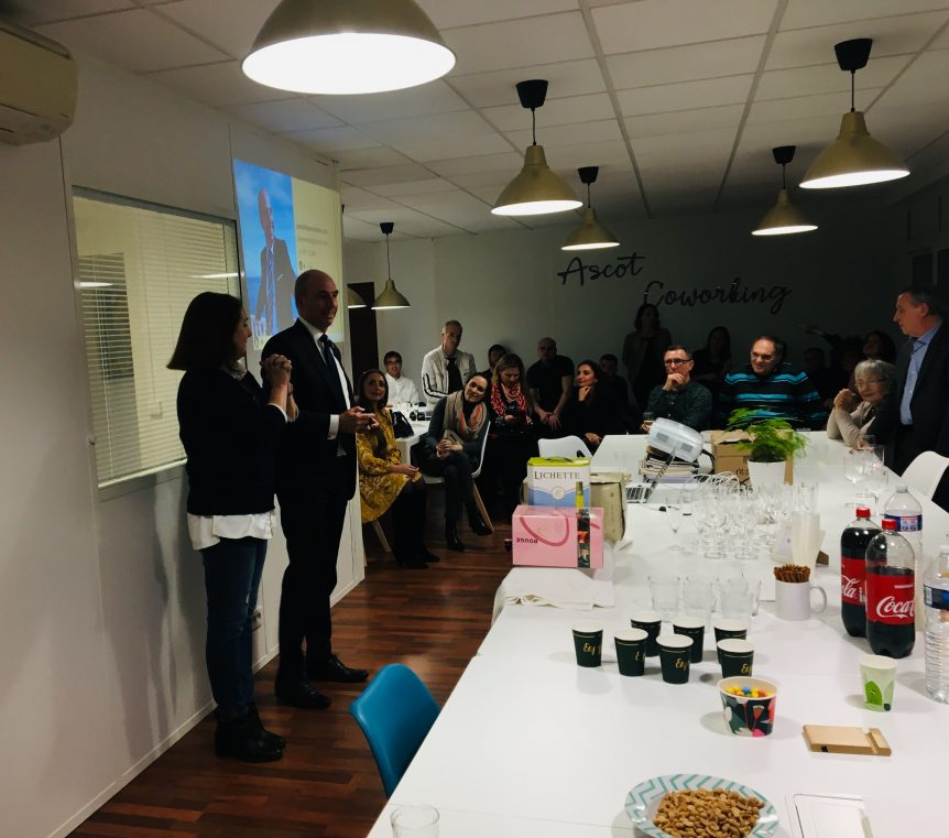 Ascot Dom & Coworking Apero Business Networking N°1 #ASCOTEVENTS